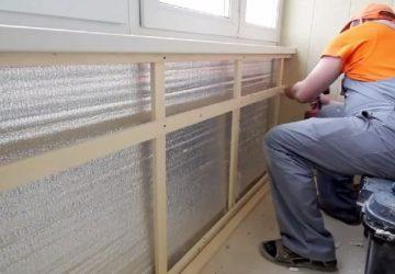 Выбор теплоизоляционного материала для балкона
