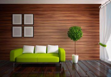 Деревянные панели – это практично и красиво