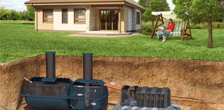 Автономная канализация в загародном доме
