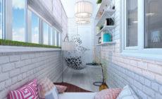 Ремонт балкона и прихожей