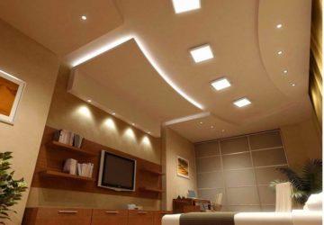 Как сделать многоуровневый потолок из гипсокартона своими руками