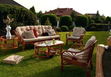 Дачная мебель: материалы изготовления, виды, параметры выбора