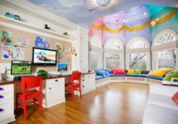 Дизайн комнаты для детей и здоровье