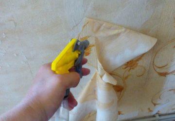 Подготовка стен к ремонту: удаление старого слоя обоев