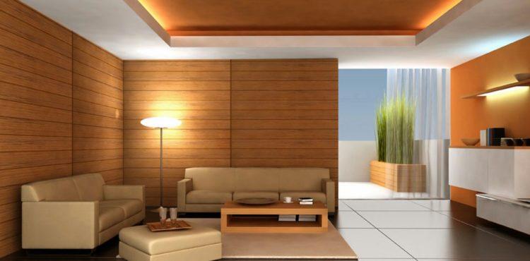 Использование ламината для облагораживания стен