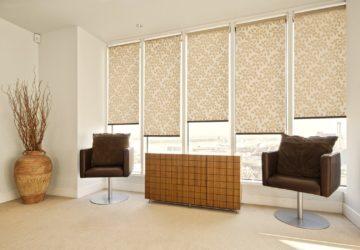 Рулонные шторы — масса достоинств