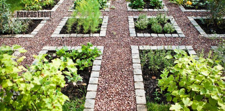 Как создать декоративный огород на дачном участке