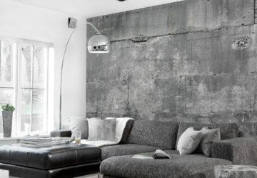 Применение бетона в интерьере