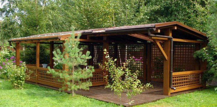 Малые архитектурные формы в деревянном домостроении