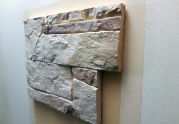 Отделка поверхности искусственным камнем